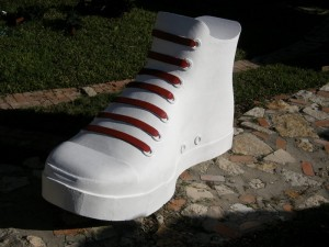 Giant 8ft Converse Shoe